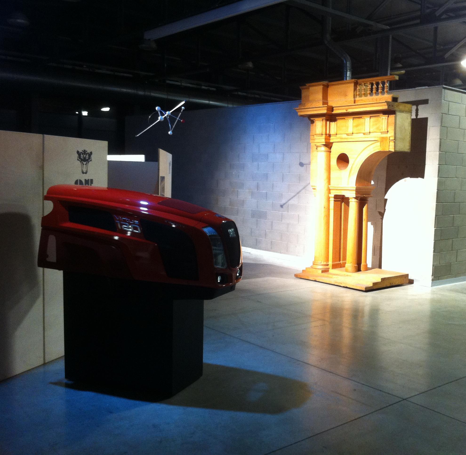 Cofano trattore SAME, design SDF con Italdesign Giugiaro, 2012, Museo SAME